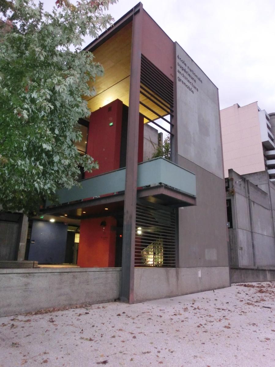 visite de l cole nationale sup rieure d architecture de. Black Bedroom Furniture Sets. Home Design Ideas