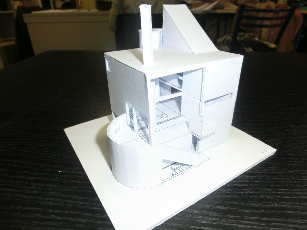 D couvrez les tonnantes maquettes des mise niveau en for Maquette d architecture